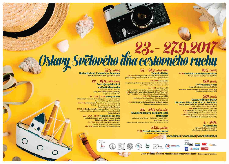 06c3064933 Svetový deň cestovného ruchu v Nitre - Kam v meste